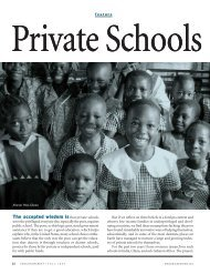 Private Schools for the Poor - Education Next
