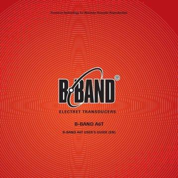 User Guide - B-Band, Inc.