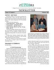 February, Volume 19, Number 1 - UTIA! - The University of ...