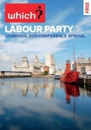 Labour party conference guide (PDF) - Magazine