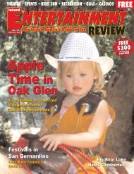 September, 2004 - Inland Entertainment Review Magazine