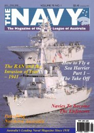 The Navy Vol_70_No_1 Jan 2008 - Navy League of Australia