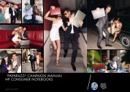 'paparazzi' campaign manual Hp consumer notebooks - Tag