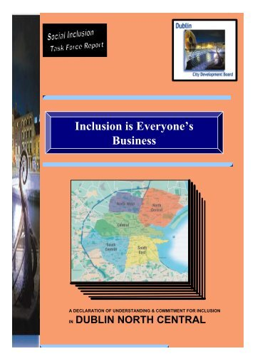 Inclusion is Everyone's Business - Dublin.ie