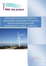 Operator WBL city project d.o.o. Banja Luka. pdf - Federalno ...
