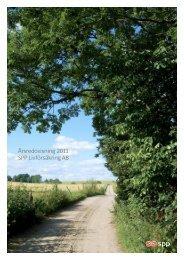 Årsredovisning 2011 SPP Livförsäkring AB