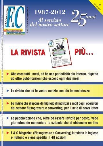 F&C n. 10:F&C_Magazine - international media - flexogravure