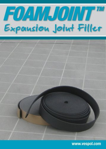 Expansion Joint Filler - Vespol.com