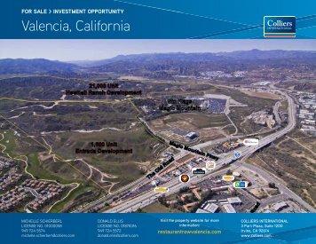 Valencia, California - Property Line
