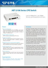 HET-2106 Series CPE Switch - Datainterfaces.com