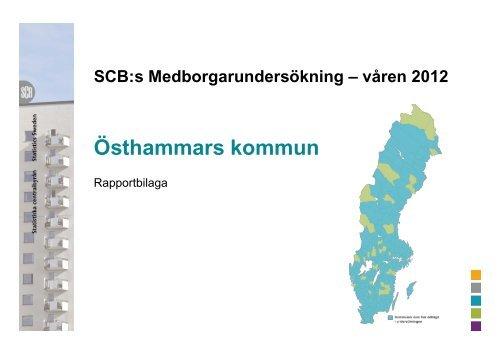 Läs rapportbilagan med tabeller och diagram - Östhammars kommun