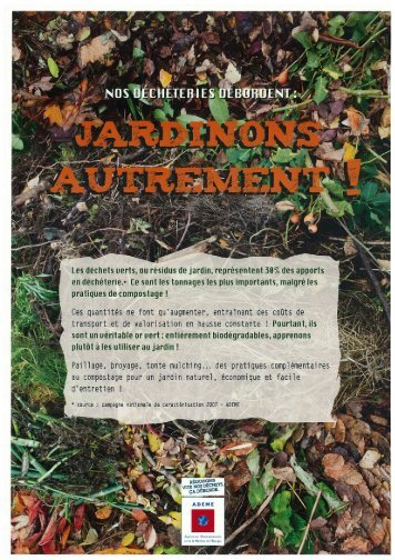 """""""Jardinons autrement"""" de l'Ademe (PDF)"""