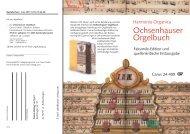 Ochsenhauser Orgelbuch