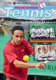 Oktober-November · NT 10-11/2010 - Tennis-Verband Niederrhein ...