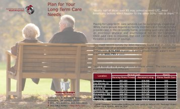 Plan for Your Long Term Care Needs