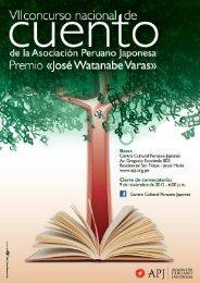 Bases Concurso Nacional de Cuento - Asociación Peruano Japonesa