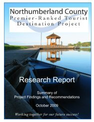 Research Report - Ministry of Tourism