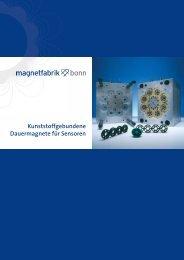 Kunststoffgebundene Dauermagnete für Sensoren - Magnetfabrik ...