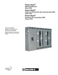 Power-Style ® QED Switchboards Class 2700 - Torrent Engineering ...