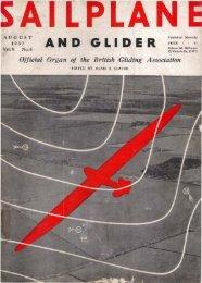 Sailplane & Glider 1937 - Lakes Gliding Club