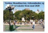 2020 verden skandinavien - virksomheder og erhvervsskoler