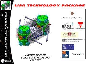 MAURICE TE PLATE EUROPEAN SPACE AGENCY ESA-ESTEC