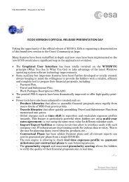 ESA Standard Document - emits - Esa