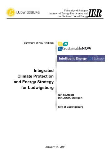 City of Ludwigsburg - Sustainable Now