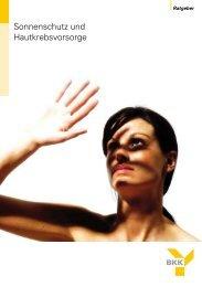 Sonnenschutz und Hautkrebsvorsorge