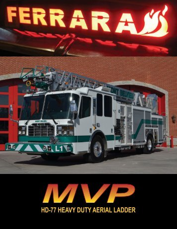 MVP Ladder - Ferrara Fire Apparatus