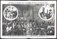 inauguración de las obras de la gran via - 100 años gran vía madrid
