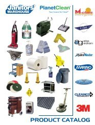 Cleaning Supplies – PC Store Catalog - PlanetClean
