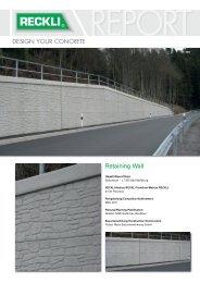 Retaining Wall - RECKLI GmbH: Home