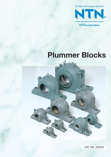 Plummer Blocks