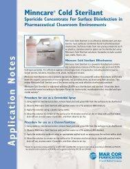 Minncare® Cold Sterilant - Liquidyne