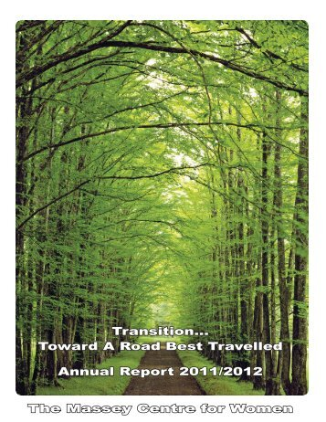 Transition... Toward A Road Best Travelled Annual Report 2011 ...