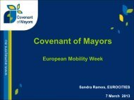 Covenant of Mayors - European Mobility Week