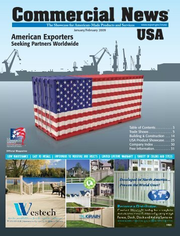 January/February 2009 issue - Commercial News USA