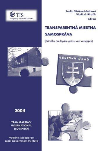 Untitled - Transparency International Slovensko