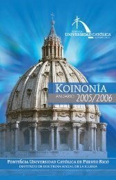 el compendio de la doctrina social de la iglesia - Pontificia ...