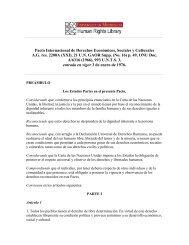 Pacto Internacional de Derechos Económicos, Sociales y Culturales ...