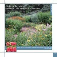 Reducing the Lawn - National Audubon Society