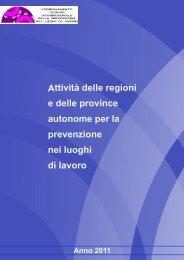 DATI ATTIVITA REGIONI 2011 Ver. 28-11-2012 - Snop