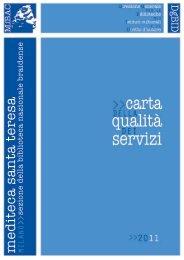 Mediateca Santa Teresa - Direzione Generale per i Beni Librari e gli ...