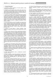 ŠkoFIN s.r.o. - Obchodní podmínky smlouvy o operativním leasingu č. I