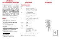 Version pdf du programme - Collège romand de médecine de l ...