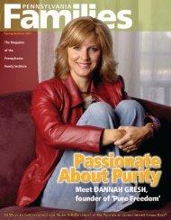 The Magazine of the Pennsylvania Family Institute