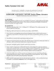LER - Safety Systems UK Ltd