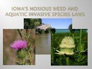 Aquatic Invasive Species Law