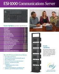 ESI-1000 - Advanced Micro Technologies